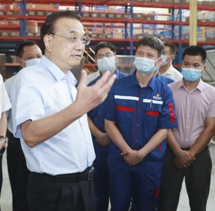 State media in China, Xinhua, with the article on remarks as Li Keqiang toured Guangxi province in the south of the country.